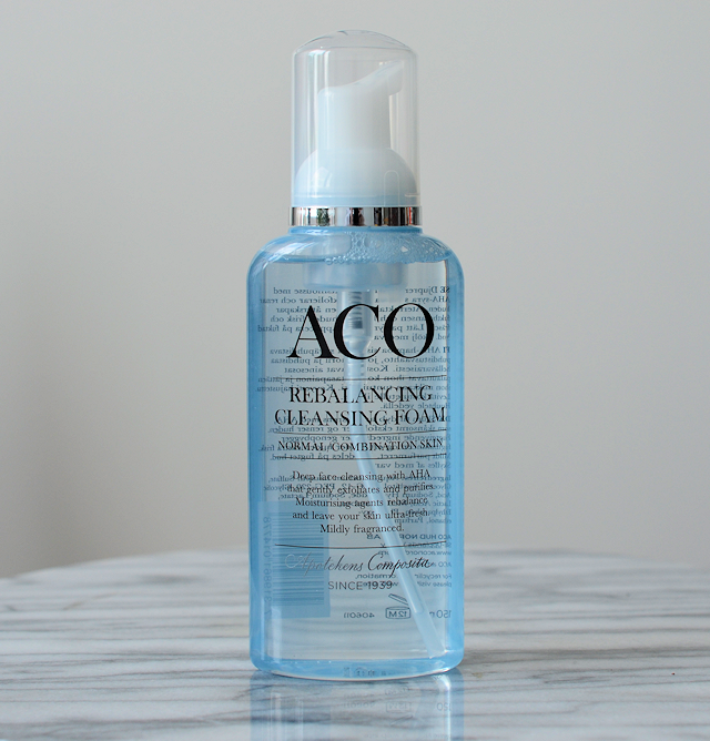 aco cleansing mousse